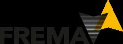 FREMA logo mobiele weergave