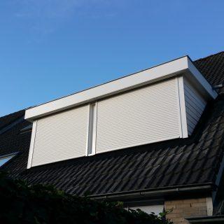 dakkapel rolluiken inbouw rolluik zonwering Rhenen Veenendaal Ede Wageningen Utrecht Bennekom