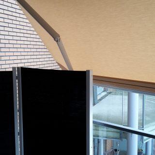 bravo zonwering balkon appartement zonnescherm Rhenen Veenendaal Ede Wageningen Utrecht