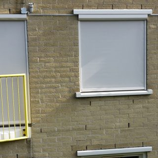 screens appartement Driebergen zonwering