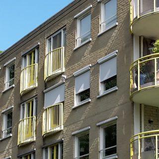 screens appartement Driebergen zonwering