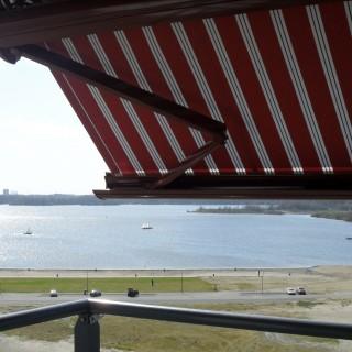 Balkonscherm zonwering balkon zonnescherm