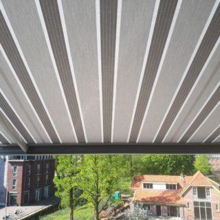 Bravo knikarmscherm zonwering Wageningen screens knikarmschermen Frema Rhenen Veenendaal Utrecht