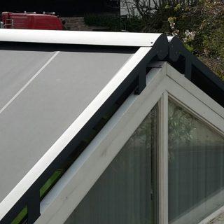 serrezonwering zonwering serre veranda terrasoverkappin overkapping tuinkamer veenendaal Ede Wageningen Rhenen Utrecht