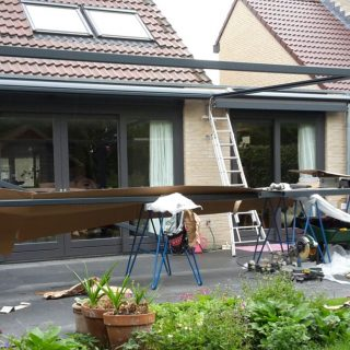 terraszonwering zonwering overkapping terrasoverkapping veranda zonweringdoek