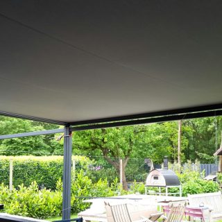 vrijstaande zonwering veranda terrasoverkapping overkapping terraszonwering Rhenen Veenendaal Ede Wageningen Bennekom Renkum Oosterbeek
