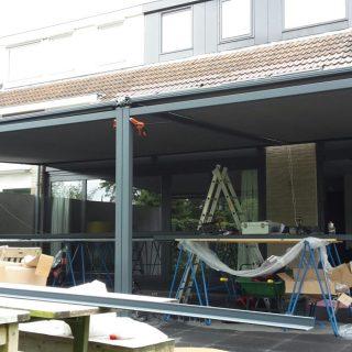 veranda met zonwering terrasoverkapping overkapping