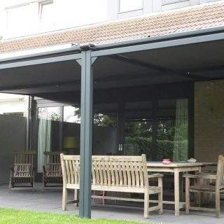 Patiorola terraszonwering Naarden zonwering overkapping veranda