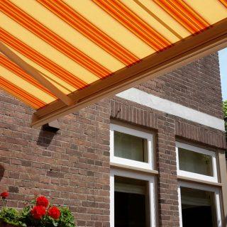 zonwering Veenendaal Rhenen terrasscherm knikarmscherm