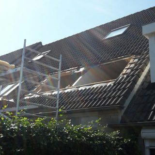dakkapel verbouwing bouw rolluiken