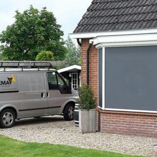 screens screen zonwering Rhenen Wageningen Veenendaal Ede