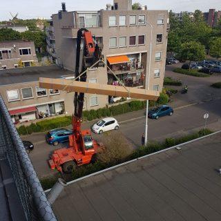 knikarmscherm Wageningen