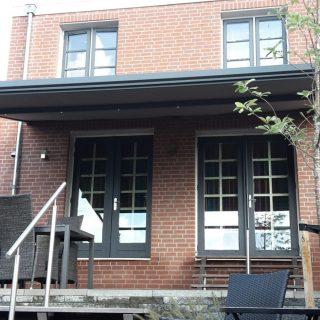 vrijstaande zonwering veranda zonnescherm Rhenen Veenendaal Ede Wageningen Utrecht