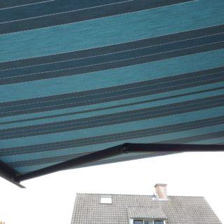 Bravo knikarmscherm Frema zonwering Rhenen Veenendaal Utrecht Wageningen