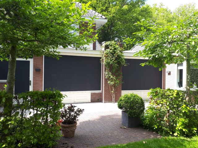 kwaliteit zonwering Leusden met Frema zonwering ruime keuze screens rolluiken zonwering op zonne-energie en meer