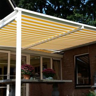 Patiorola vrijstaande terras zonwering Bennekom Frem Rhenen