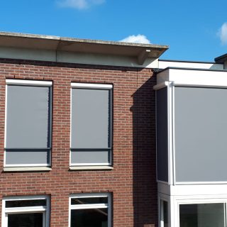 Screens appartement Ede Frema zonwering Rhenen