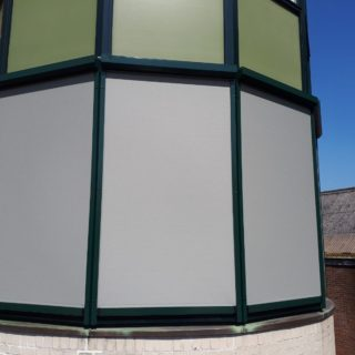 Screens appartment Veenendaal zonwering Frema Rhenen erker toren
