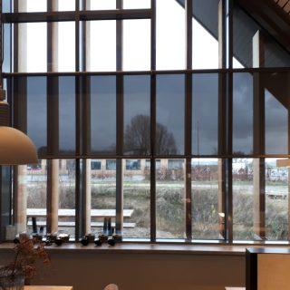 Screens en binnenzonwering Rhenen Frema zonwering kantoor bedrijfspand