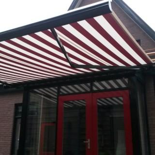 Terrasscherm zonwering Renkum Wageningen
