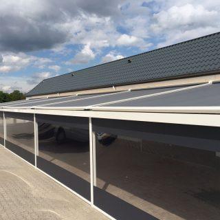 aluminium veranda's serrezonwering Frema zonwering Rhenen Veenendaal Ede Wageningen Utrecht Gelderland Betuwe e.o.