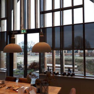binnenscreens screens binnen kantoor bedrijven zonwering