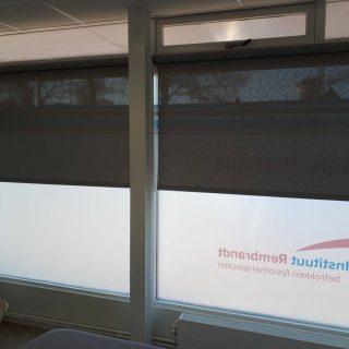 binnenscreens zonwering bedrijven Amerongen Rhenen Veenendaal Ede Wageningen winkel restaurant horeca zorg