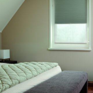 duette slaapkamer binnenzonwering Frema zonwering Rhenen