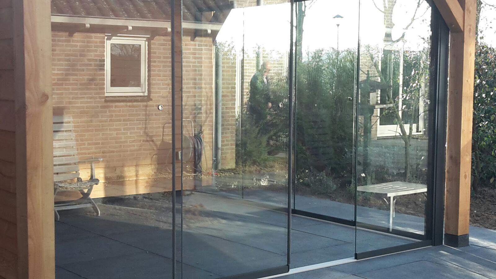 Glazen Deuren Glasschuifwandsysteem Douglas Veranda