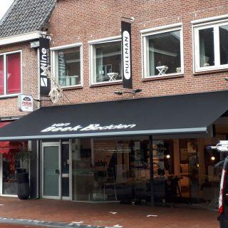 knikarmscherm Rhenen reclame bedrijven zonwering zonneschermen Wageningen Veenendaal Ede Bennekom Utrecht winkel restaurant