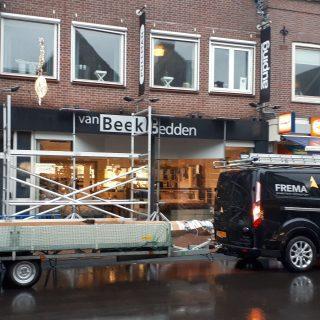 knikarmscherm zonwering Rhenen winkel Veenendaal Wageningen