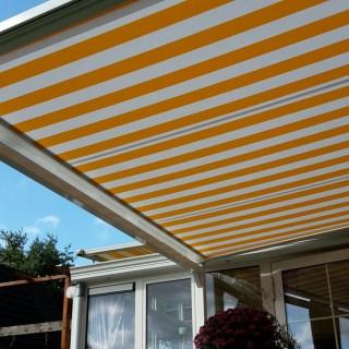 patiorola vrijstaande terras zonwering serrezonwering Bennekom 1