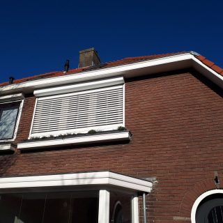 rolluik met kantelbare lamellen hybride rolluiken wit Frema zonwering Rhenen Veenendaal Ede Wageningen Utrecht Gelderland Betuwe e.o. (2)