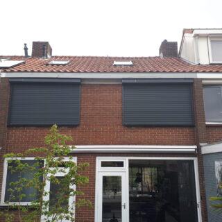 rolluiken op zonne-energie zonwering rolluik solarzonwering solar zonnepaneel zonnecel FREMA Zonwering Rhenen Veenendaal Ede Wageningen Utrecht Gelderland Betuwe e.o.