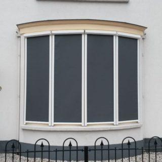 Screens driebergen zonwering erker bedrijfspand