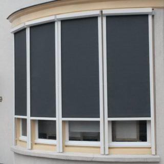 zonwerende screens bedrijfspand Driebergen zonwering Rhenen