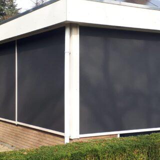 screens Oosterbeek inbouwen inbouwscreens zwart grijs ritsscreens antraciet overstek FREMA Zonwering Rhenen Veenendaal Ede Wageningen Utrecht Gelderland Betuwe e.o.