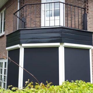 screens Soest antraciet grijs wit zonwering Frema Rhenen Veenendaal Ede Wageningen Utrecht e.o.