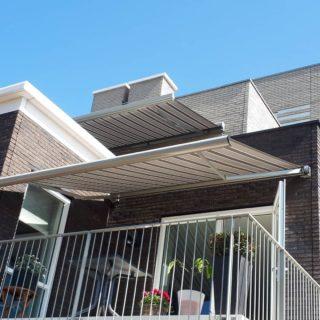 terrasschermen screens Wageningen Frema zonwering Rhenen