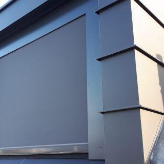 screens antraciet zinken dakkapel grijs zwart ritsscreens Frema zonwering Rhenen Veenendaal Ede Wageningen Gelderland Betuwe Utrecht e.o. zonneschermen