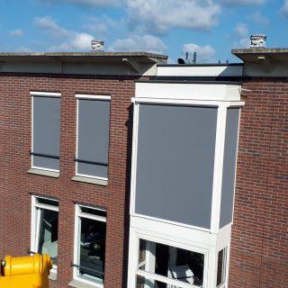 screens appartement Ede zonwering zonneschermen Ede Frema zonwering Rhenen Veenendaal Wageningen e.o.