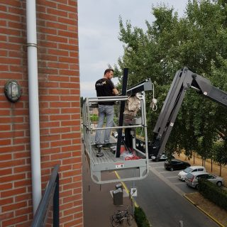 screens appartement Frema zonwering montage screen