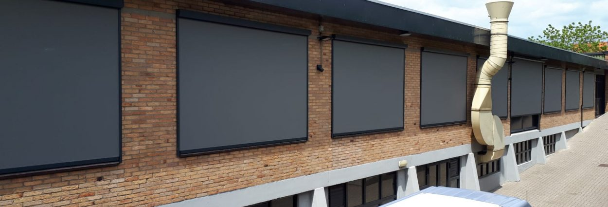 Screens bedrijfspand Rhenen