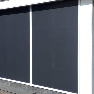 screens inbouwscreens zwart antraciet ritsscreens Frema zonwering Rhenen Veenendaal Ede Wageningen Utrecht Gelderland Betuwe e.o.