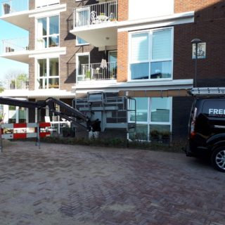 screens knikarmscherm Wageningen Frema zonwering Rhenen Veenendaal Utrecht e.o.