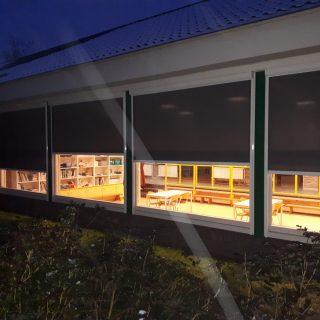 screens screen school scholen Driebergen Frema zonwering Rhenen