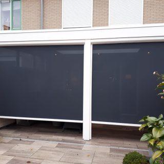 screens veranda Wageningen zonwering zonneschermen serre uitbouw overkapping verandazonwering Frema zonwering Wageningen Rhenen Veenendaal Utrecht Ede e.o.