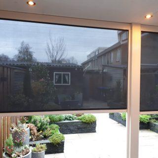 screens veranda verandazonwering serre zonnescherm screen Frema zonwering Wageningen Rhenen Veenendaal Ede Utrecht e.o.