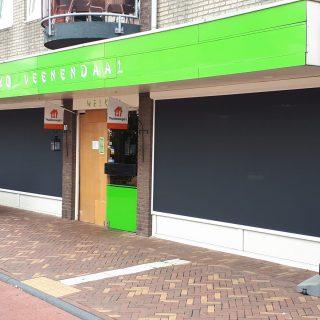 screens zonnewering zonneschermen bedrijven winkel horeca restaurant Frema zonwering regio Rhenen Veenendaal Ede Wageningen Utrecht e.o.