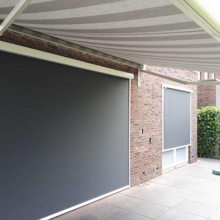 screens zonwering knikarmscherm zonnescherm Frema Rhenen Veenendaal Ede Wageningen Utrecht e.o.